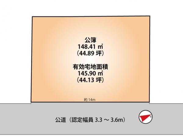 土地 船橋市宮本8丁目6-4 京成本線船橋競馬場駅駅 3580万円