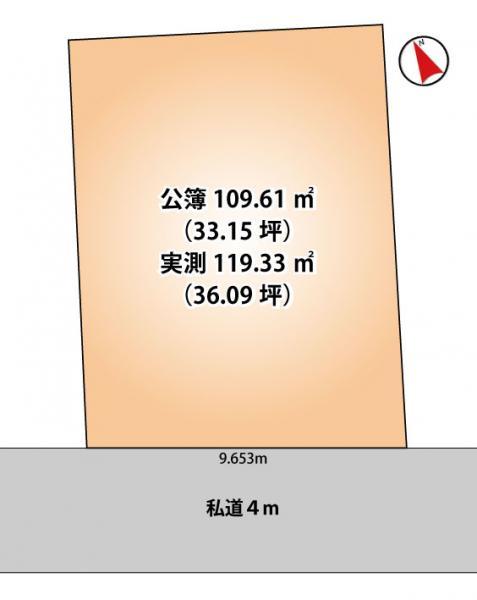 土地 千葉市若葉区桜木1丁目4-10 千葉都市モノレール2号線桜木駅 980万円