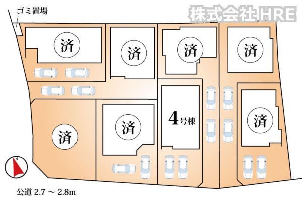 新築戸建 船橋市夏見6丁目 JR総武本線船橋駅 3880万円~4480万円