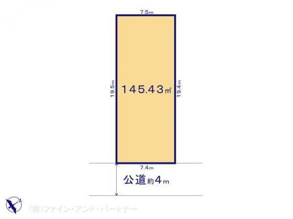 土地 東京都杉並区阿佐谷南2丁目6-14 JR中央線阿佐ヶ谷駅駅 8980万円