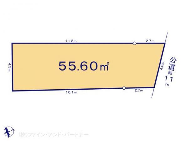土地 東京都杉並区松庵2丁目8-19 JR中央線西荻窪駅 3980万円