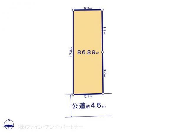 土地 東京都中野区中野1丁目54-10 JR中央線中野駅 6480万円