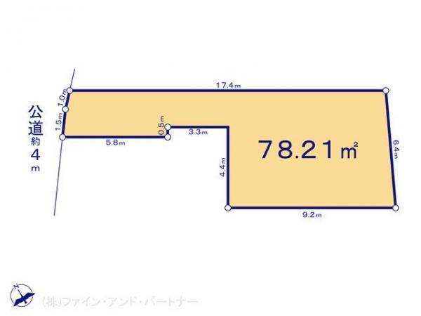 土地 東京都板橋区西台3丁目36-16 東武東上線東武練馬駅  1780万円