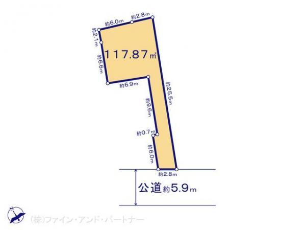 土地 東京都世田谷区下馬5丁目4-3 東急東横線学芸大学駅 8800万円
