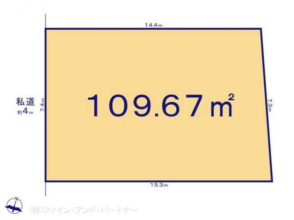 土地 東京都板橋区東山町14-7 東武東上線ときわ台駅 5480万円