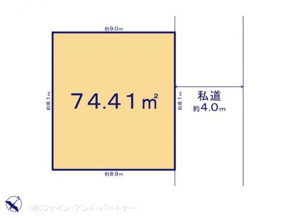 土地 東京都板橋区東山町13-4 東武東上線ときわ台駅 4350万円