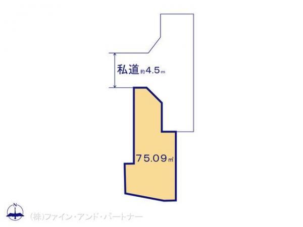土地 東京都板橋区西台2丁目5-10 東京都三田線西台駅 3190万円