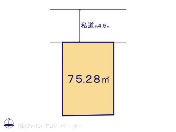 土地 東京都板橋区西台2丁目5-10 東京都三田線西台駅 3390万円