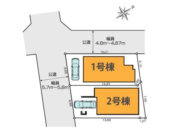 新築戸建 練馬区練馬2丁目 有楽町線氷川台駅 8190万円