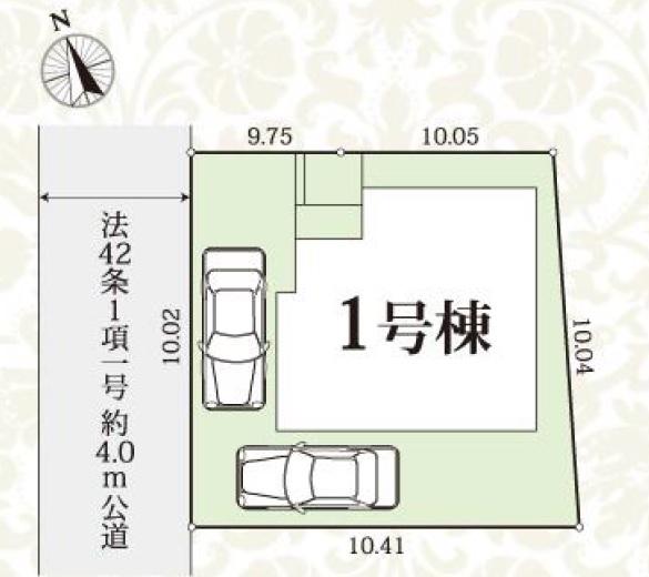 新築戸建 板橋区赤塚4丁目 都営三田線西高島平駅 5390万円