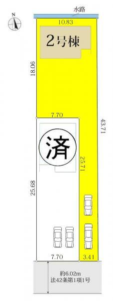 新築一戸建て 津島市愛宕町4丁目63番1の一部 名鉄尾西線津島駅 2180万円