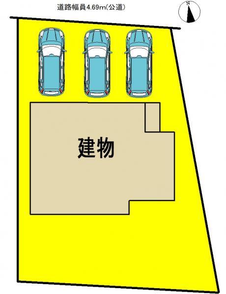 新築一戸建て 弥富市荷之上町古堤2006番3、2007番2 関西本線弥富駅 2280万円