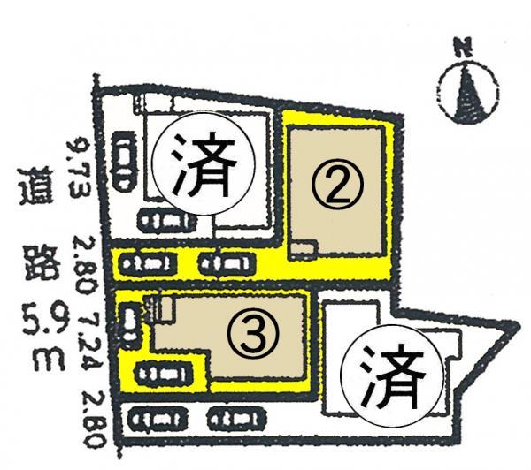 新築一戸建て 愛知県名古屋市西区比良3丁目258番地1号 東海交通事業城北線比良駅 2890万円