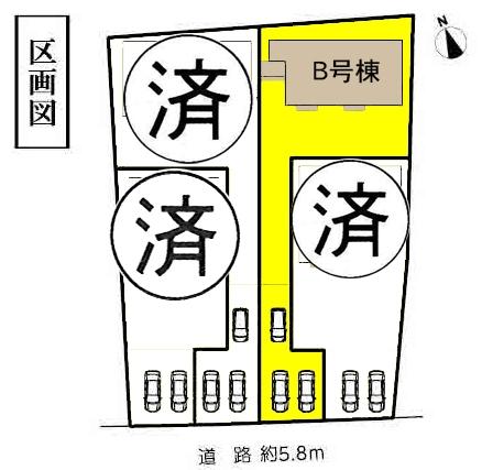 新築一戸建て 愛知県稲沢市西島2丁目54番地 名鉄尾西線山崎駅 1890万円