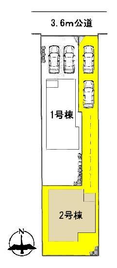 新築一戸建て 愛知県名古屋市中川区下之一色町字宮分118番地 名古屋市東山線高畑駅 2080万円