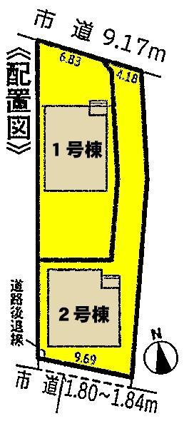 新築戸建 愛知県西尾市一色町赤羽上郷中90番地1号 名鉄西尾線吉良吉田駅 1730万円