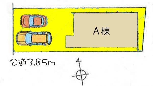 新築戸建 岡崎市戸崎町字東山34-11 JR東海道本線(熱海〜米原)岡崎駅 3990万円