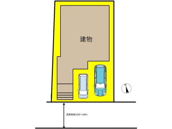 新築一戸建て 名古屋市中川区牛立町3丁目78番の一部 名古屋市名港線日比野駅 3390万円