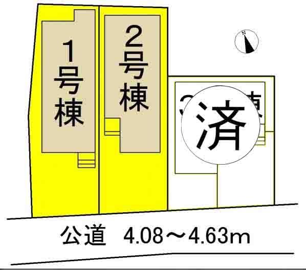 新築戸建 大府市北崎町城畑12-1 JR東海道本線(熱海〜米原)大府駅 2880万円