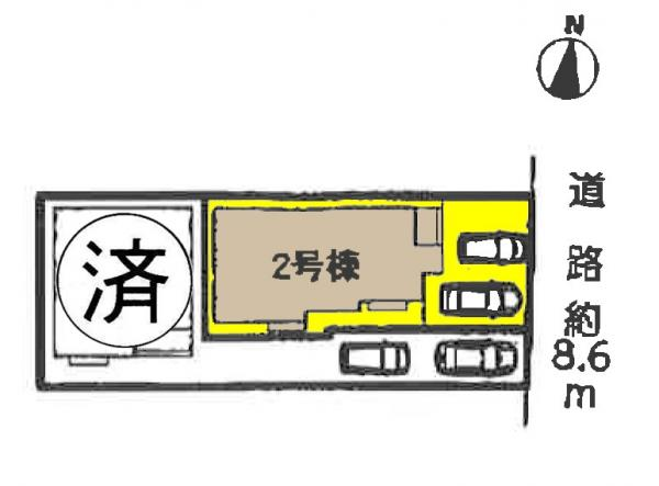 新築一戸建て 海部郡蟹江町平安2丁目32 関西本線蟹江駅  2490万円
