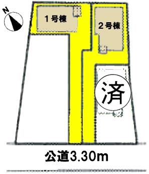 新築戸建 高浜市呉竹町3丁目 名鉄三河線吉浜駅 2880万円