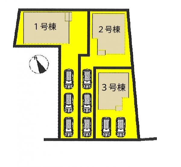 新築戸建 高浜市呉竹町3丁目 名鉄三河線吉浜駅 3280万円