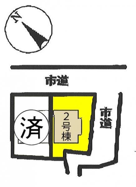 新築戸建 西尾市下矢田町西浦32番5 名鉄西尾線福地駅 2280万円