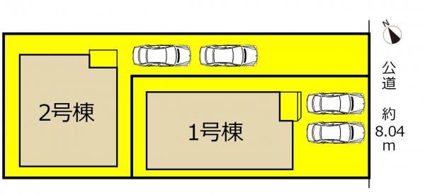 新築一戸建て 名古屋市天白区御前場町256番の一部 名古屋市鶴舞線原駅 3590万円