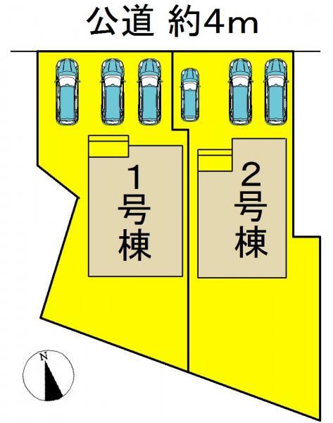 新築一戸建て 名古屋市緑区潮見が丘3丁目129 名鉄名古屋本線鳴海駅 4180万円