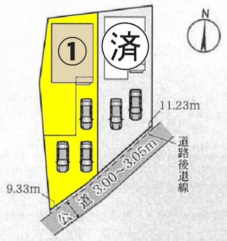 新築一戸建て 江南市和田町小島7番地 名鉄犬山線扶桑駅  2090万円