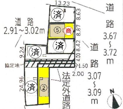 新築一戸建て 西尾市矢場町70番地 名鉄西尾線西尾口駅 2690万円