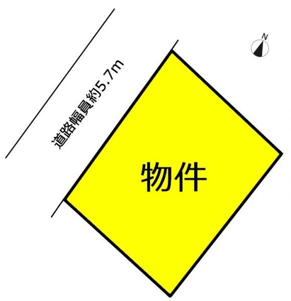 土地 日進市本郷町宮下522-18 名鉄豊田線日進駅 1480万円