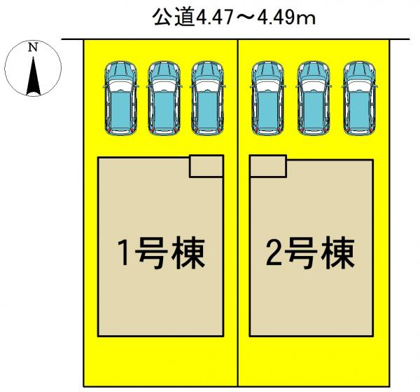 新築一戸建て 北名古屋市久地野安田23 東海交通事業城北線比良駅 2990万円