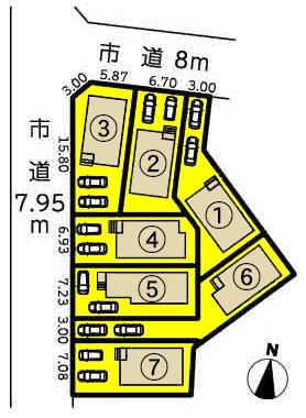 新築一戸建て 名古屋市北区会所町184番 東海交通事業城北線比良駅 2880万円