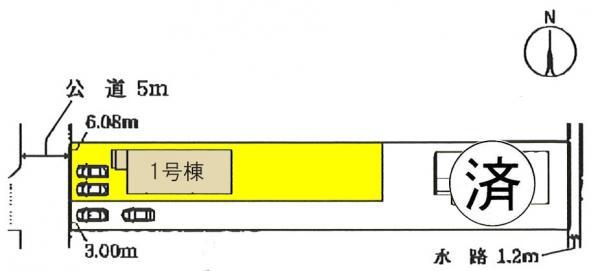 新築一戸建て 一宮市今伊勢町新神戸字郷前37 名鉄名古屋本線今伊勢駅 2380万円