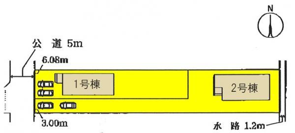 新築一戸建て 一宮市今伊勢町新神戸字郷前37 名鉄名古屋本線今伊勢駅 2280万円
