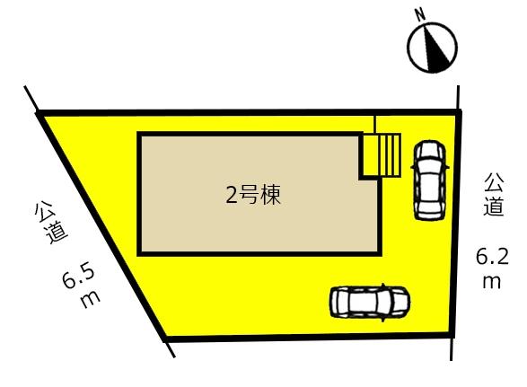 新築一戸建て 多治見市音羽町2丁目2番の一部 JR中央本線多治見駅 3190万円