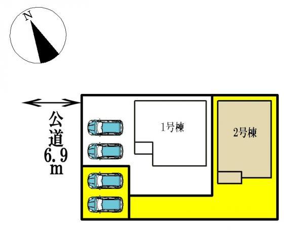 新築一戸建て 愛西市渕高町蔭島78 名鉄尾西線渕高駅  1480万円