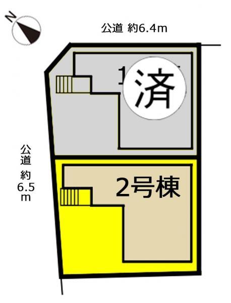 新築一戸建て 名古屋市名東区新宿1丁目215番の一部 名古屋市東山線一社駅  3650万円
