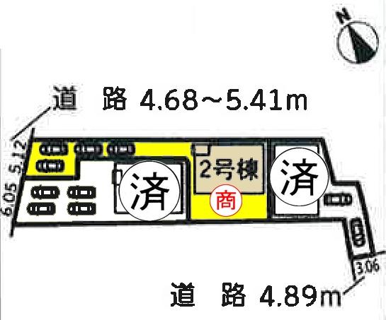 新築一戸建て 安城市安城町亀山2-1、2-2、2-3 名鉄西尾線碧海古井駅  3290万円