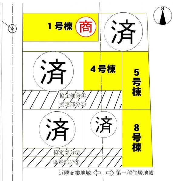 新築一戸建て 西尾市一色町前野東浦136-8 名鉄西尾線吉良吉田駅  2090万円