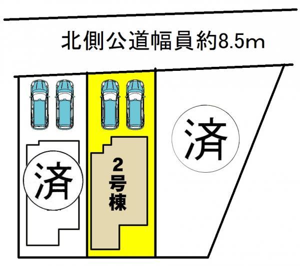 新築一戸建て 西尾市伊藤2丁目2-2、2-30 名鉄西尾線桜町前駅 3490万円