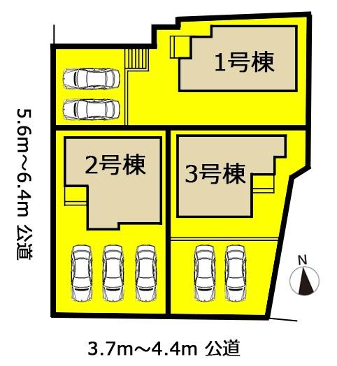 新築一戸建て 瀬戸市熊野町69-2 名鉄瀬戸線尾張瀬戸駅 2580万円
