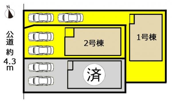 新築一戸建て 名古屋市守山区鳥羽見1丁目704番1の一部 JR中央本線新守山駅 2990万円