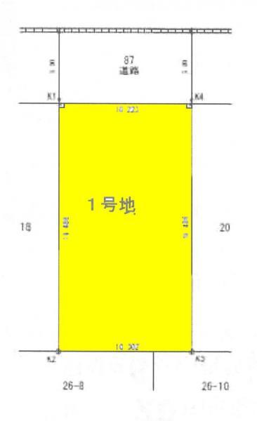 土地 津島市百島町字祢宜19 名鉄津島線青塚駅 1090万円