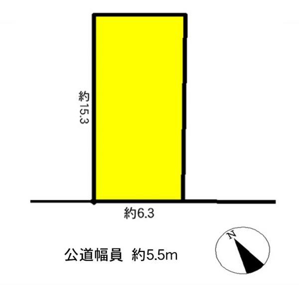 土地 清須市土器野 名鉄名古屋本線新川橋駅 800万円