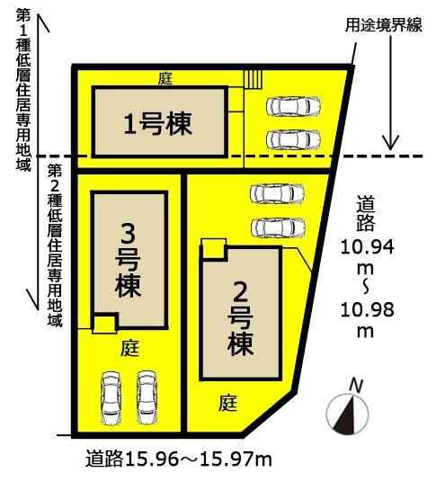 新築一戸建て 名古屋市名東区赤松台1107番の一部 名古屋市東山線上社駅 4390万円