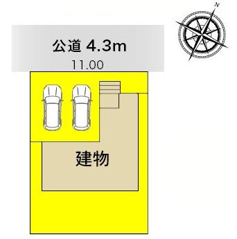新築一戸建て 津島市鹿伏兎町下春日台8-3 関西本線永和駅 2280万円