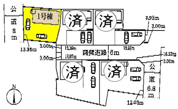 新築一戸建て 津島市老松町166番 名鉄尾西線日比野駅 2680万円
