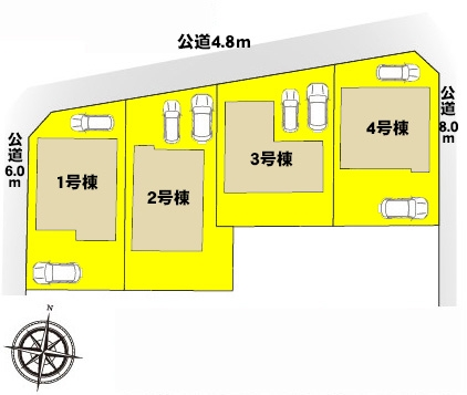新築一戸建て 海部郡蟹江町平安1丁目38-1 関西本線永和駅 2580万円